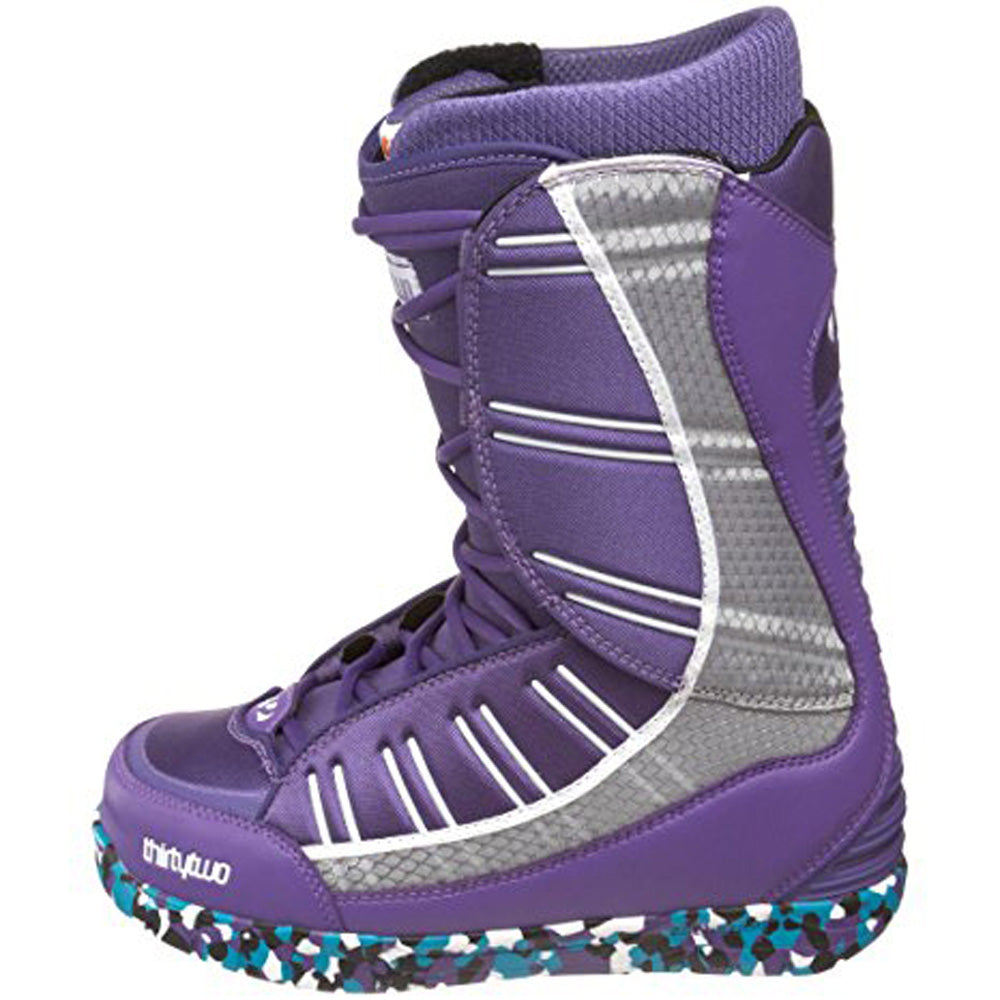 32 Ultra Light Snowboard Boots Size Mens 9 Purple/White