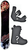 140cm 360 Tattoo Rocker Snowboard, Build a Package with Boots and Bindings.