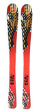 130cm 365 Hydro DH Skis Threesixtyfive 2nd Black Orange