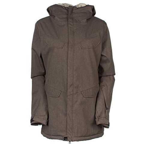 686 Annex Womens Snowboard Jacket 10K Waterproof Chocolate XS (2-4)