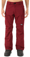 686 Authentic Infinity INS Mens XL Cargo Wine Pants
