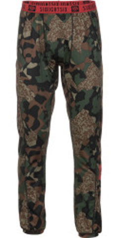 686 Frontier Mens Small 1st Layer Pant Hunter Cubist Camo
