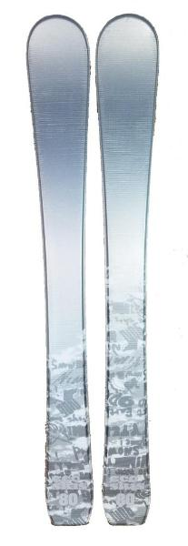 80cm Eco 9010 Jr. Blem Skis, Ski Blades, Ski Board.