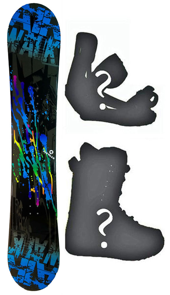150cm Airwalk Blend Camber Mens Snowboard, Build a Package with Boots and Bindings.