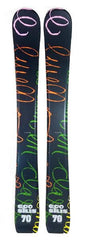 70cm Eco Alpha Jr. Blem Skis, Ski Blades, Ski Board.