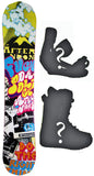 146cm  Afternoon Fuk Da Poh W-Camber Snowboard, Build a Package with Boots and Bindings