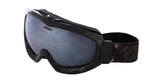 Anex Avalanche Scope Polarized Snowboard Ski Goggles Black Mirror Anti-Fog