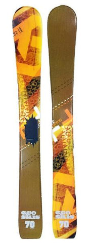 70cm Eco Blacer Jr. Blem Skis, Ski Blades, Ski Board.