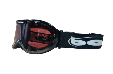 BOLLE Sharkfin  Ross Powers Snowboard Ski Goggles Black Fade.
