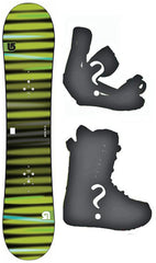 130cm Burton USED LTR Flat Rocker Men's Snowboard, Build a Package with Boots and Bindings