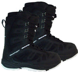 Black Dragon BD1055B Black & White Snowboard Boots Mens 8.