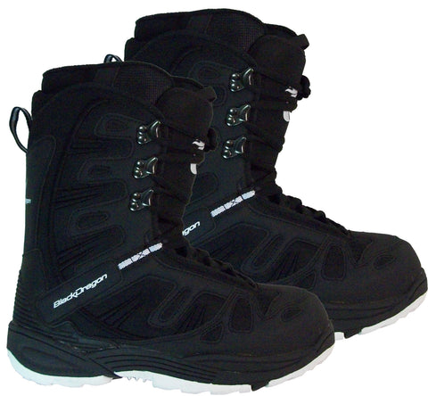 Black Dragon BD1055 Black Snowboard Boots 8 11