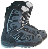 Black Dragon BD1055 Black Gray Snowboard Boots Mens 6 = womens 7.5