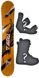 139cm  Black Fire Mistress Rocker Snowboard, Build a Package with Boots and Bindings