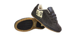 DC COURT KIDS SKATE SKATEBOARD SHOES BROWN / GUM 3.5
