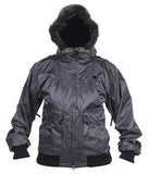 DC Women's Beret Snowboard Ski Jacket Silver Fur 10,000 mm.