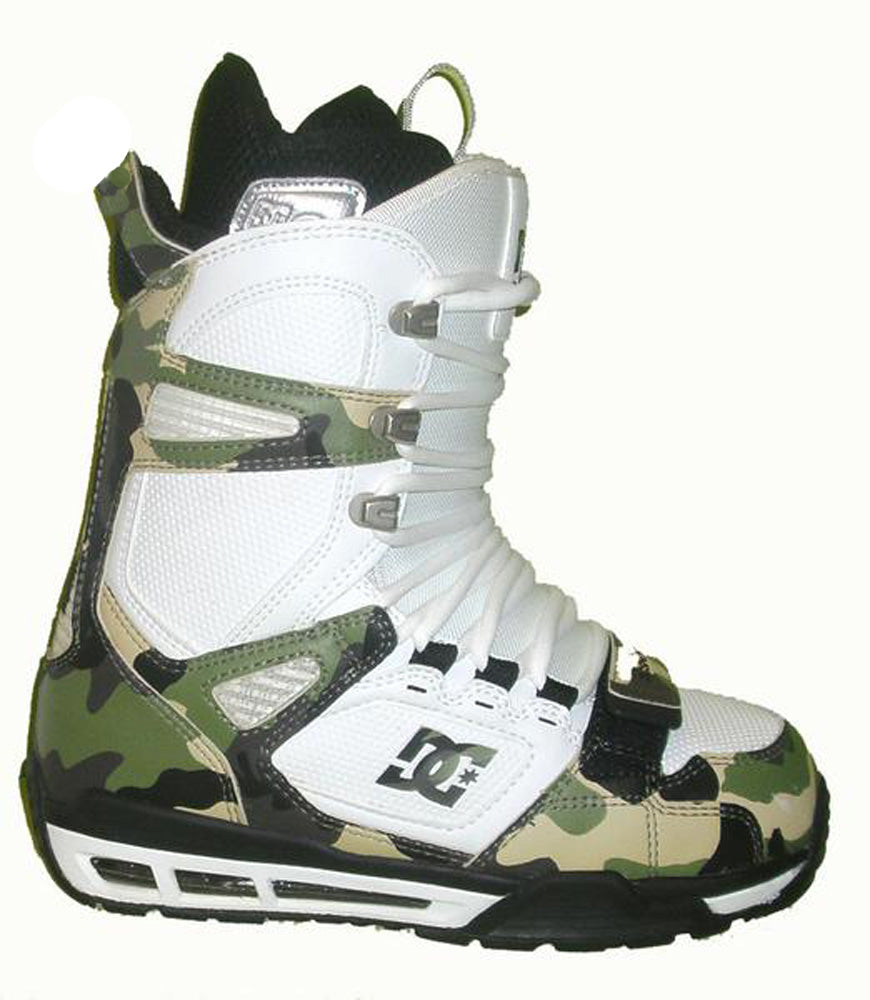 DC Flare Mens Snowboard Boots Size -Euro37 Cammo.