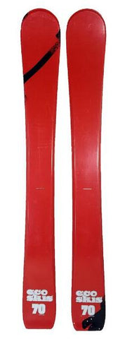 70cm Eco Descend Jr. Blem Skis, Ski Blades, Ski Board.