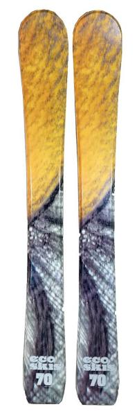 70cm Eco Fire Jr. Blem Skis, Ski Blades, Ski Board.