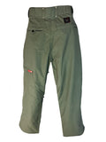 MISSION SIX FLUX WATERPROOF SNOWBOARD PANTS ARMY-GREEN MEN'S XS