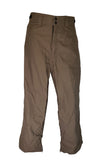 MISSION SIX FLUX WATERPROOF SNOWBOARD PANTS BROWN MEN'S XS