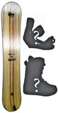 150cm  Free Surf Wild n Smart Light W-Camber Snowboard, Build a Package with Boots and Bindings