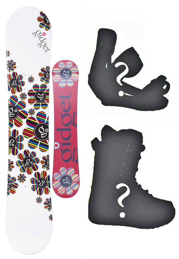 144cm Gidget Blume Camber Womens Snowboard, Build a Package with Boots and Bindings.