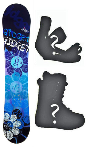 140cm Gidget Link Camber Blem Womens Snowboard, Build a Package with Boots and Bindings.