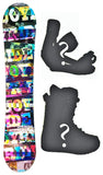 140cm Joyride 3D camber Mens Snowboard, Build a Package with Boots and Bindings.