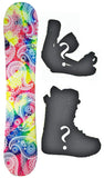 138cm Joyride Bandana Camber Womens Snowboard, Build a Package with Boots and Bindings.