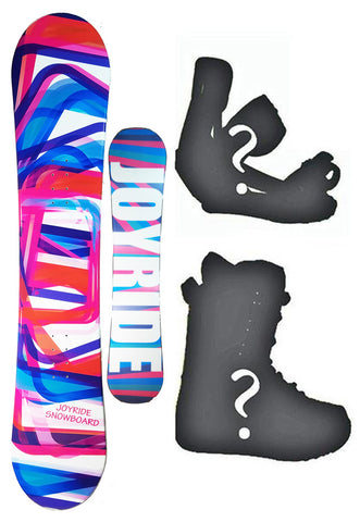 140cm Joyride Cute Camber Womens Blem Snowboard, Build a Package with Boots and Bindings.