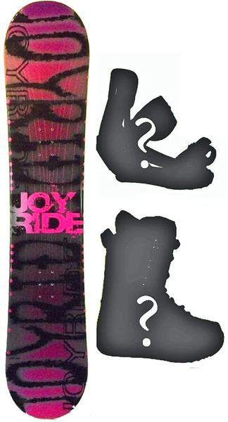140cm Joyride Shadow Camber Mens Snowboard, Build a Package with Boots and Bindings.