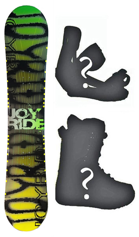 150cm JoyRide Shadow Camber Mens Blem Snowboard, Build a Package with Boots and Bindings.