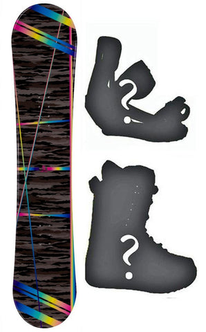 140cm Joyride Camo Trip Camber Womens Snowboard, Build a Package with Boots and Bindings.