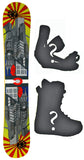 153cm  Klass Nine Cubs W-Rocker Snowboard, Build a Package with Boots and Bindings