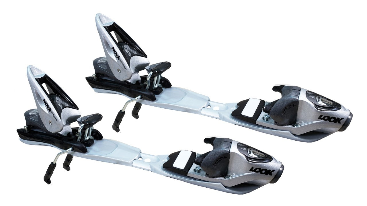Look Nova Sport Maxplate Ski Skiing Bindings Black Grey 85mm Din 2.5-9