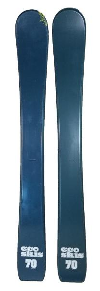 70cm Eco LTD Jr. Blem Skis, Ski Blades, Ski Board.