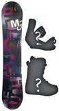 139cm  M3 Foxy Rocker Snowboard, Build a Package with Boots and Bindings