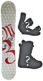 144cm  M3 Gabe Taylor Camber Snowboard, Build a Package with Boots and Bindings