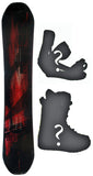 153cm  M3 Phaze Rocker Snowboard, Build a Package with Boots and Bindings