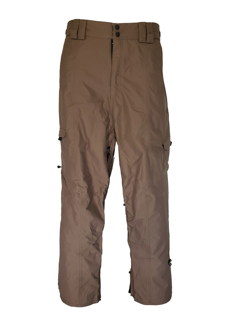 MISSION SIX BREAKER 10K WATERPROOF SNOWBOARDING PANTS BROWN MEN'S XL