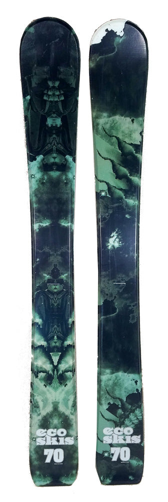 70cm Eco Matrix Jr. Blem Skis, Ski Blades, Ski Board.