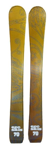 70cm Eco Nollie Jr. Blem Skis, Ski Blades, Ski Board.