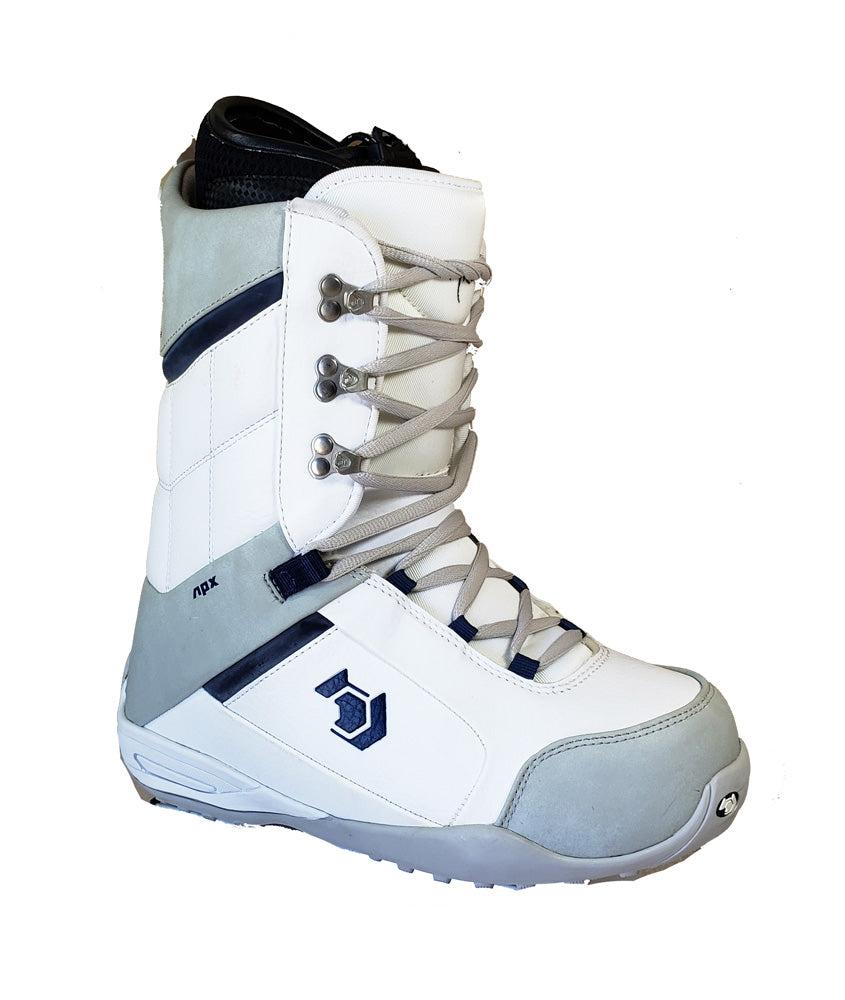 Northwave Three Japan Snowboard Boots White Cool Gray, Men 8.5
