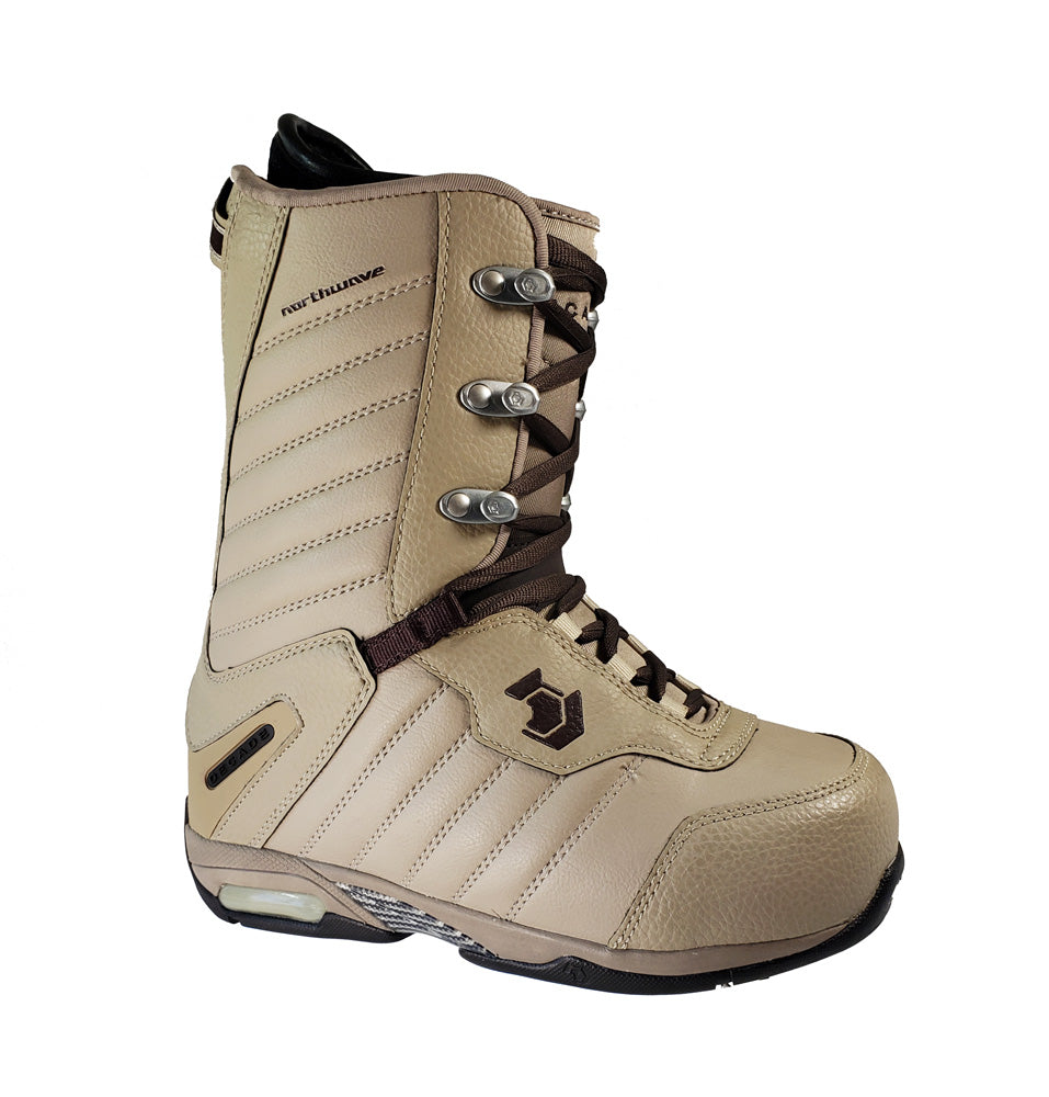 Northwave Decade Lace Snowboard Boots Brown Mens 7 Winter Warehouse