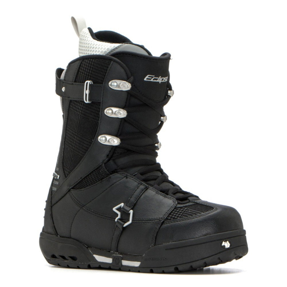 Northwave Eclipse Snowboard Boots Black Silver Womens 7