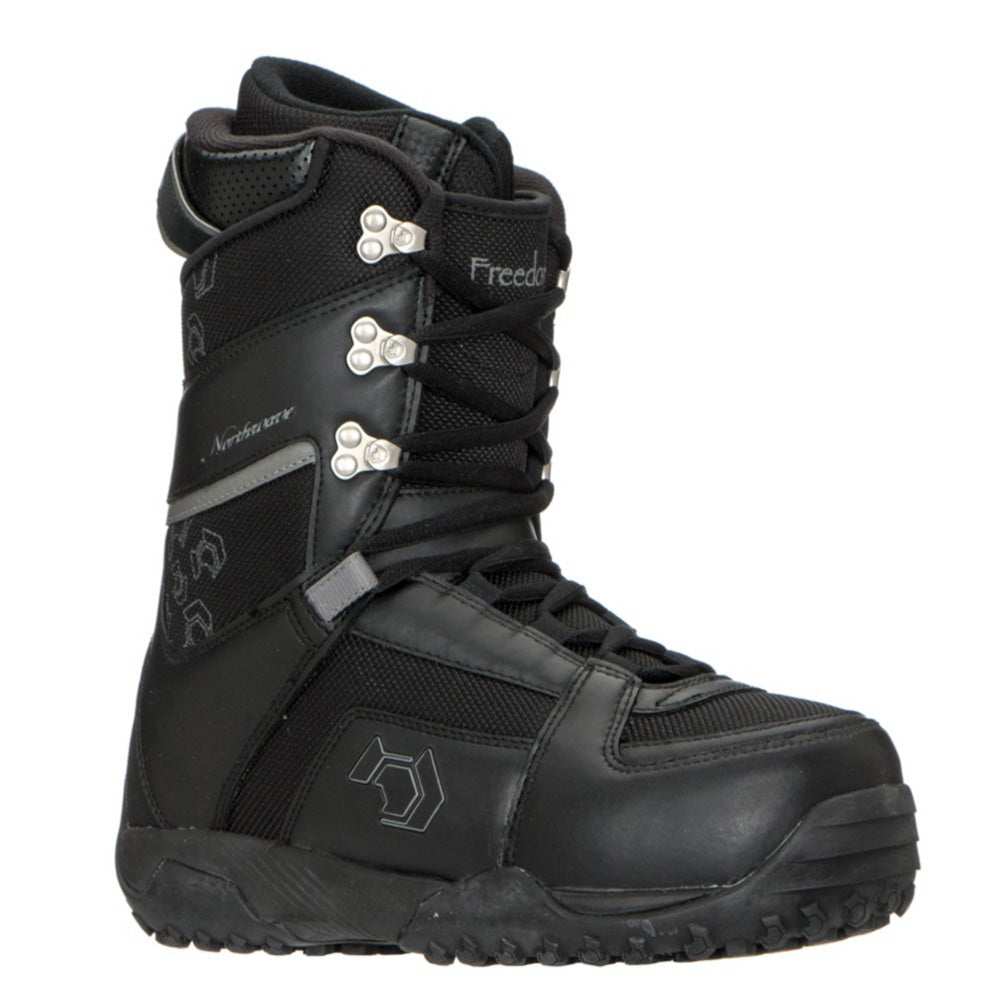 Northwave Freedom Snowboard Boots Black Anthra Womens 10
