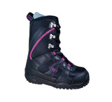 Northwave Freedom Japan Snowboard Boots Black Violet Youth Girls size 4