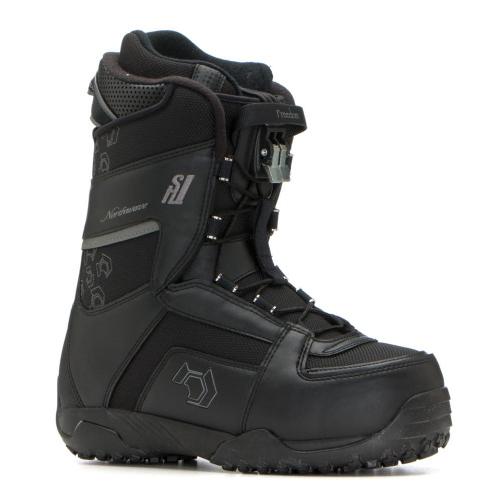 Northwave Freedom Super Lace Snowboard Boots Black , Womens size 9