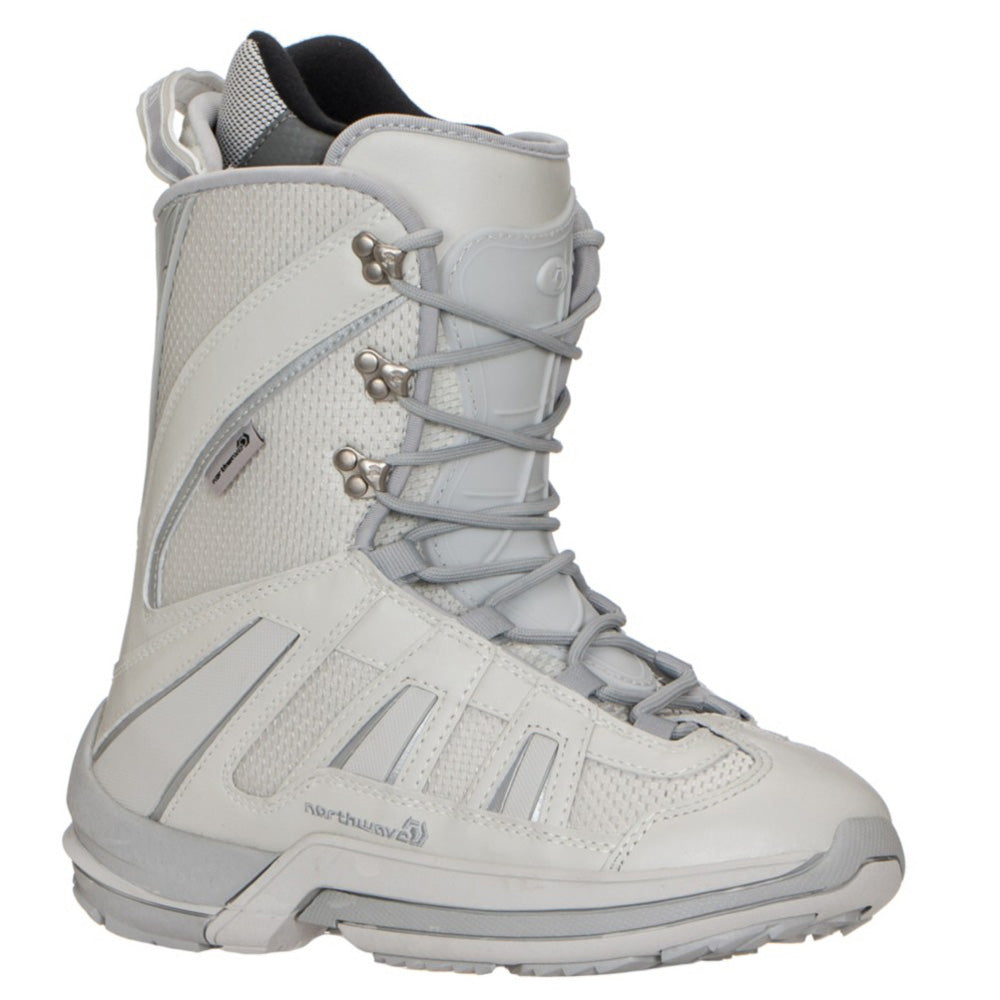Northwave Freedom Snowboard Boots Blem Light Gray, Women Size 5.5